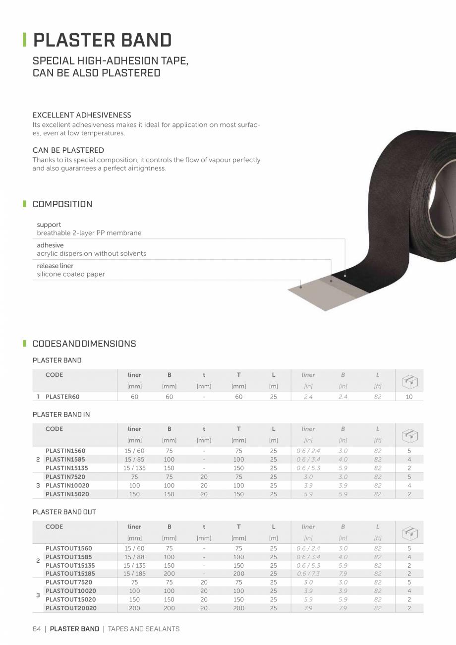 Pagina 83 - Bariere de vapori si control al difuziei pentru acoperis ROTHOBLAAS Catalog, brosura...