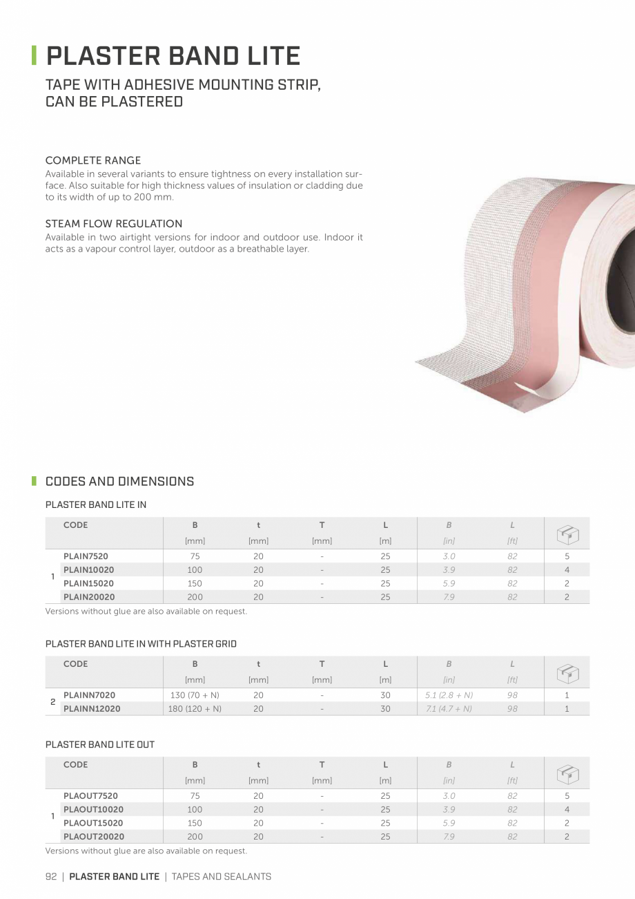 Pagina 91 - Bariere de vapori si control al difuziei pentru acoperis ROTHOBLAAS Catalog, brosura...