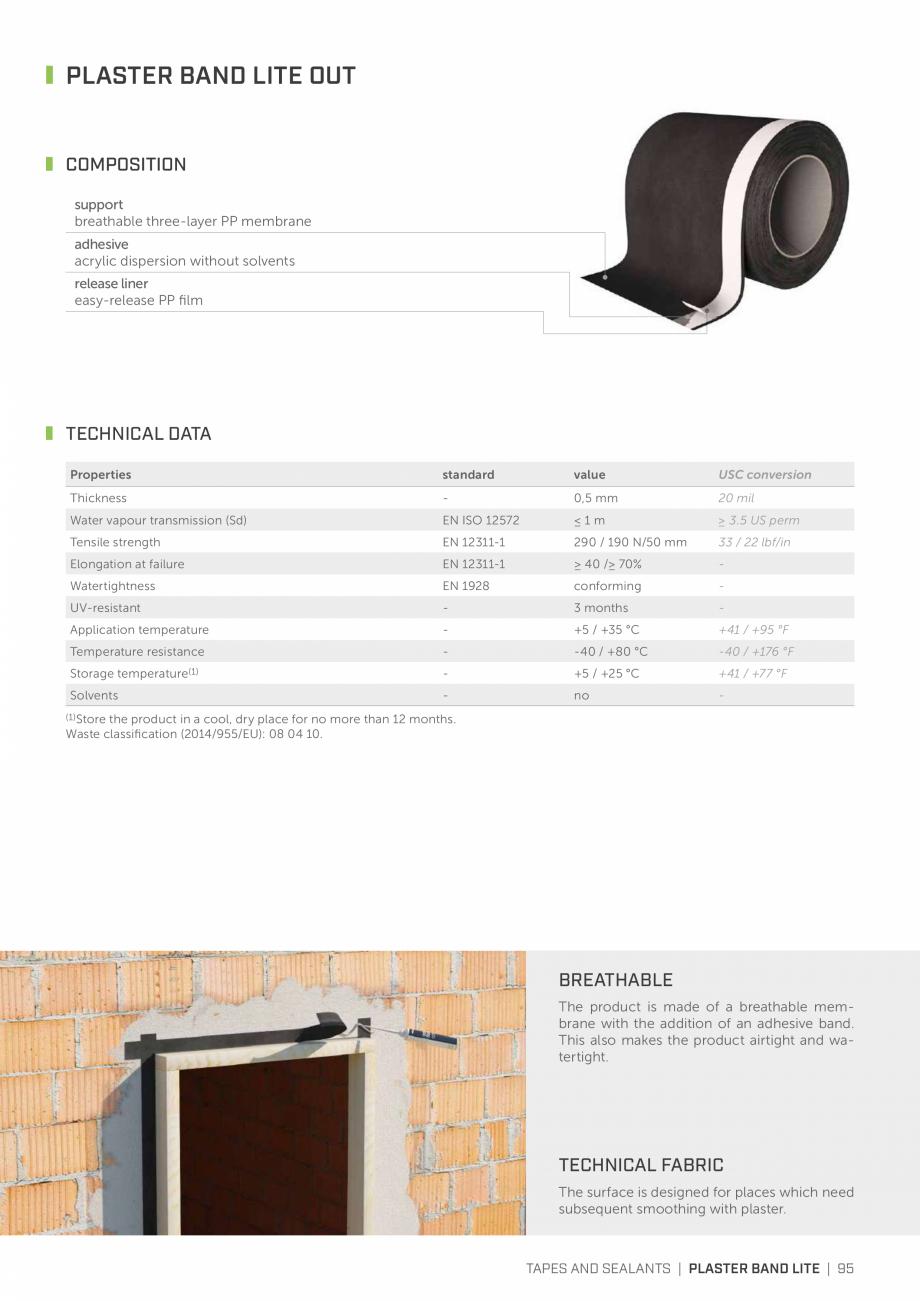 Pagina 94 - Bariere de vapori si control al difuziei pentru acoperis ROTHOBLAAS Catalog, brosura...