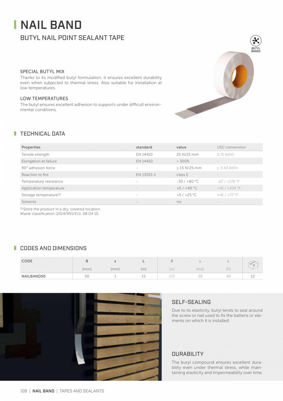 Pagina 127 - Bariere de vapori si control al difuziei pentru acoperis ROTHOBLAAS Catalog, brosura...