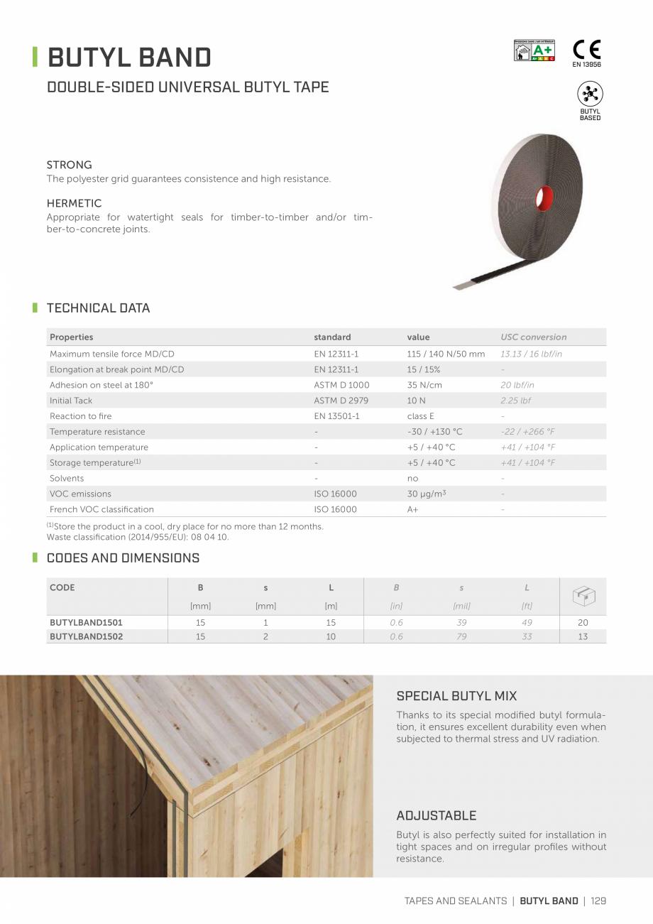 Pagina 128 - Bariere de vapori si control al difuziei pentru acoperis ROTHOBLAAS Catalog, brosura...