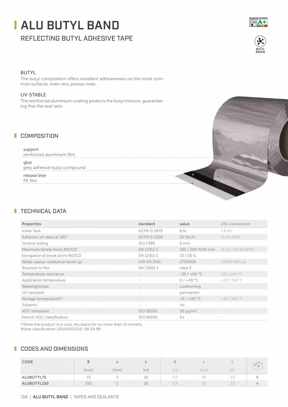 Pagina 133 - Bariere de vapori si control al difuziei pentru acoperis ROTHOBLAAS Catalog, brosura...