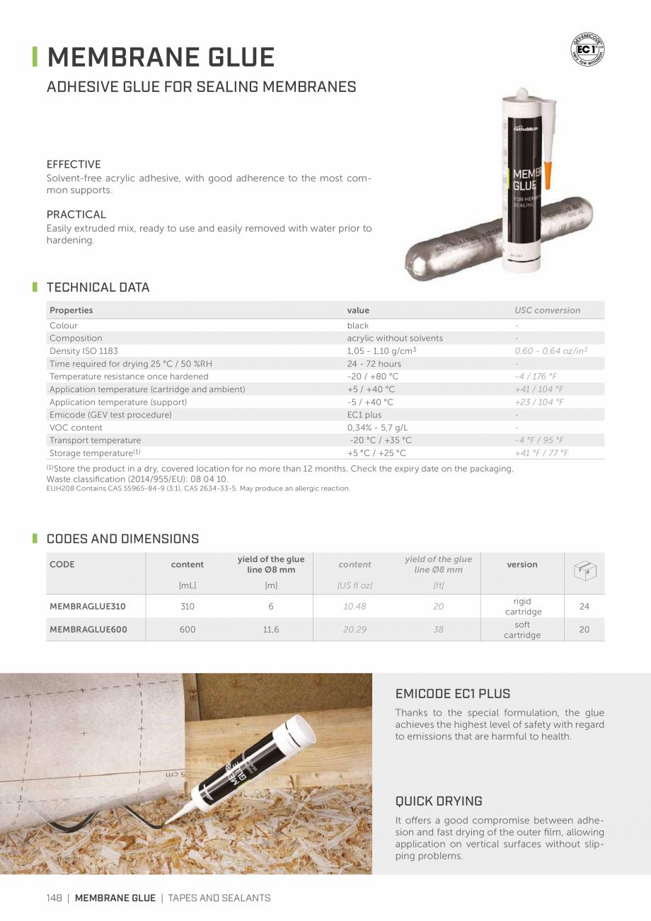 Pagina 147 - Bariere de vapori si control al difuziei pentru acoperis ROTHOBLAAS Catalog, brosura...