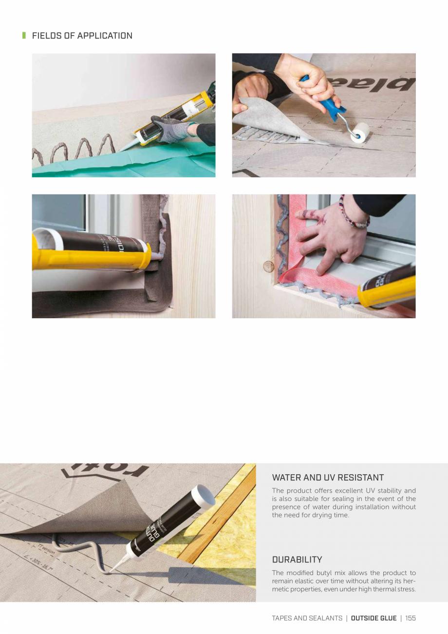 Pagina 154 - Bariere de vapori si control al difuziei pentru acoperis ROTHOBLAAS Catalog, brosura...