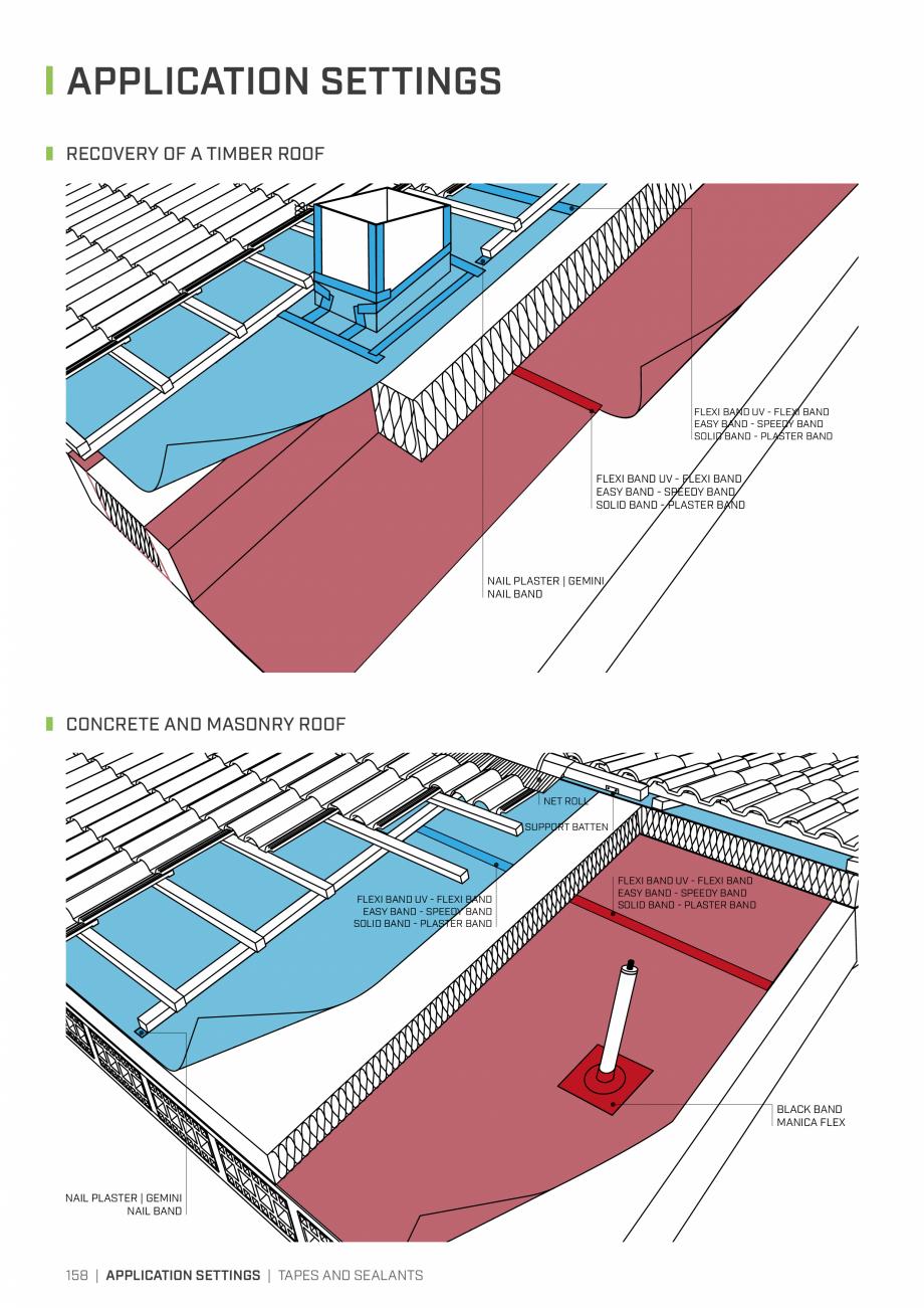 Pagina 157 - Bariere de vapori si control al difuziei pentru acoperis ROTHOBLAAS Catalog, brosura...
