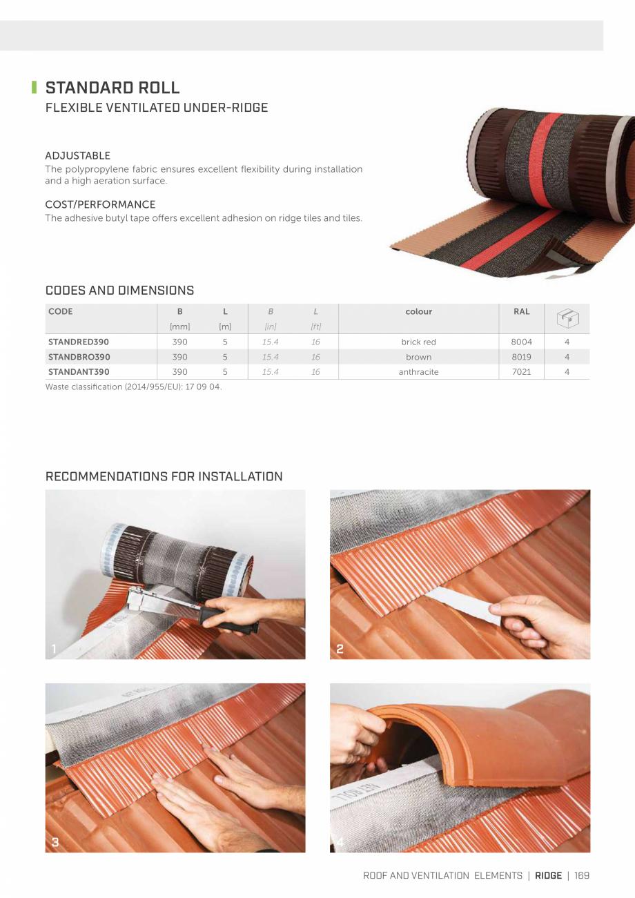 Pagina 168 - Bariere de vapori si control al difuziei pentru acoperis ROTHOBLAAS Catalog, brosura...