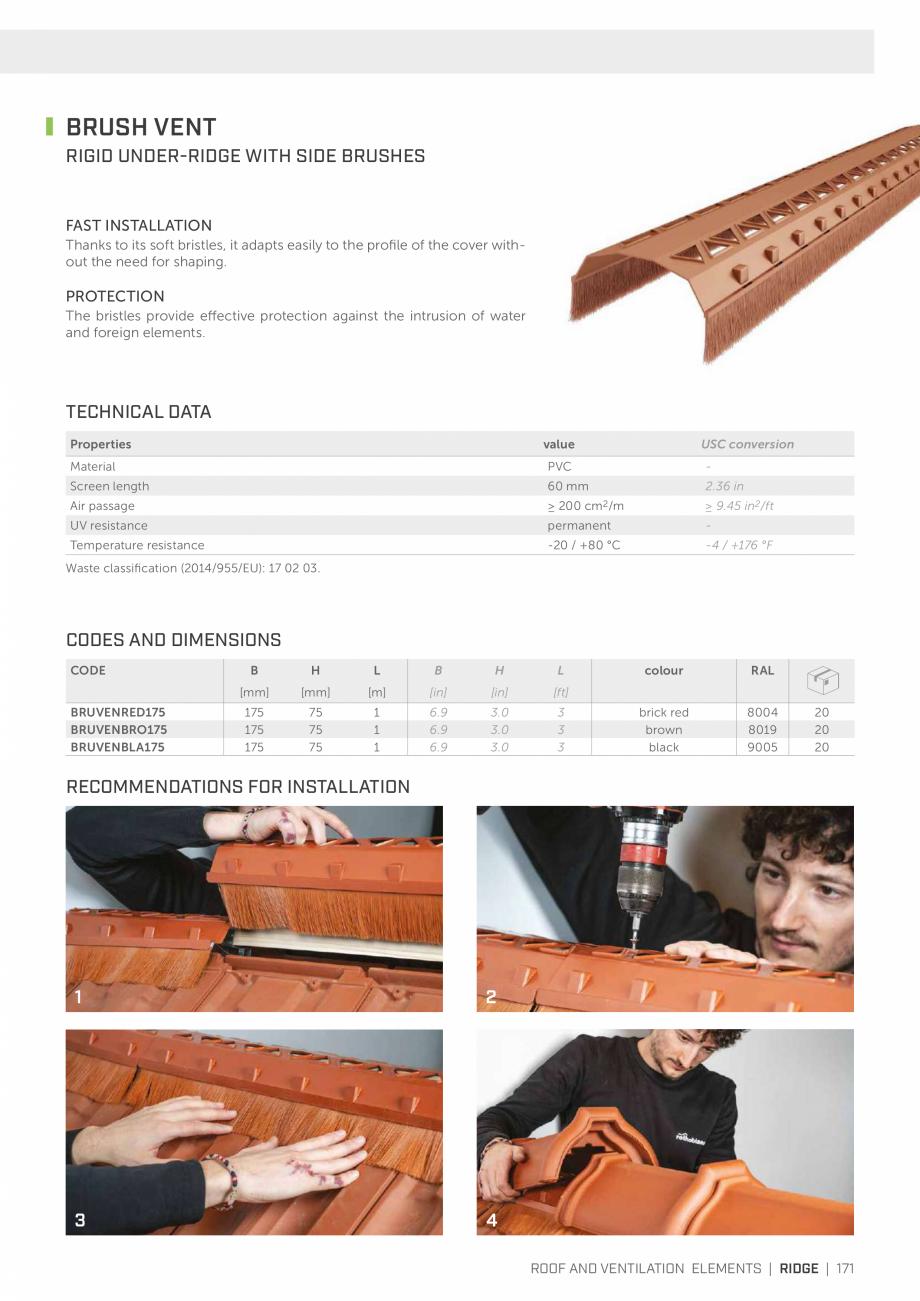 Pagina 171 - Bariere de vapori si control al difuziei pentru acoperis ROTHOBLAAS Catalog, brosura...