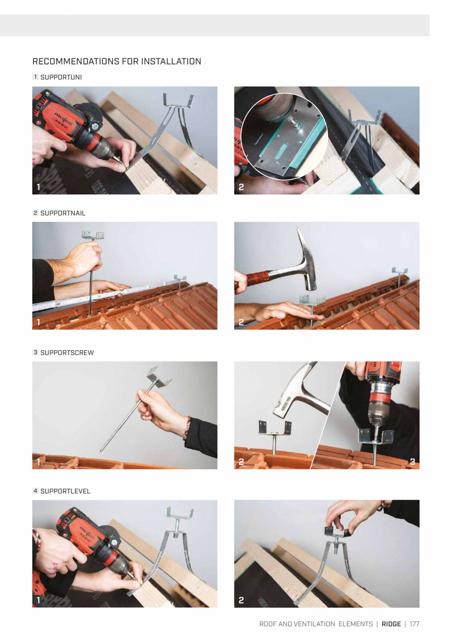 Pagina 177 - Bariere de vapori si control al difuziei pentru acoperis ROTHOBLAAS Catalog, brosura...