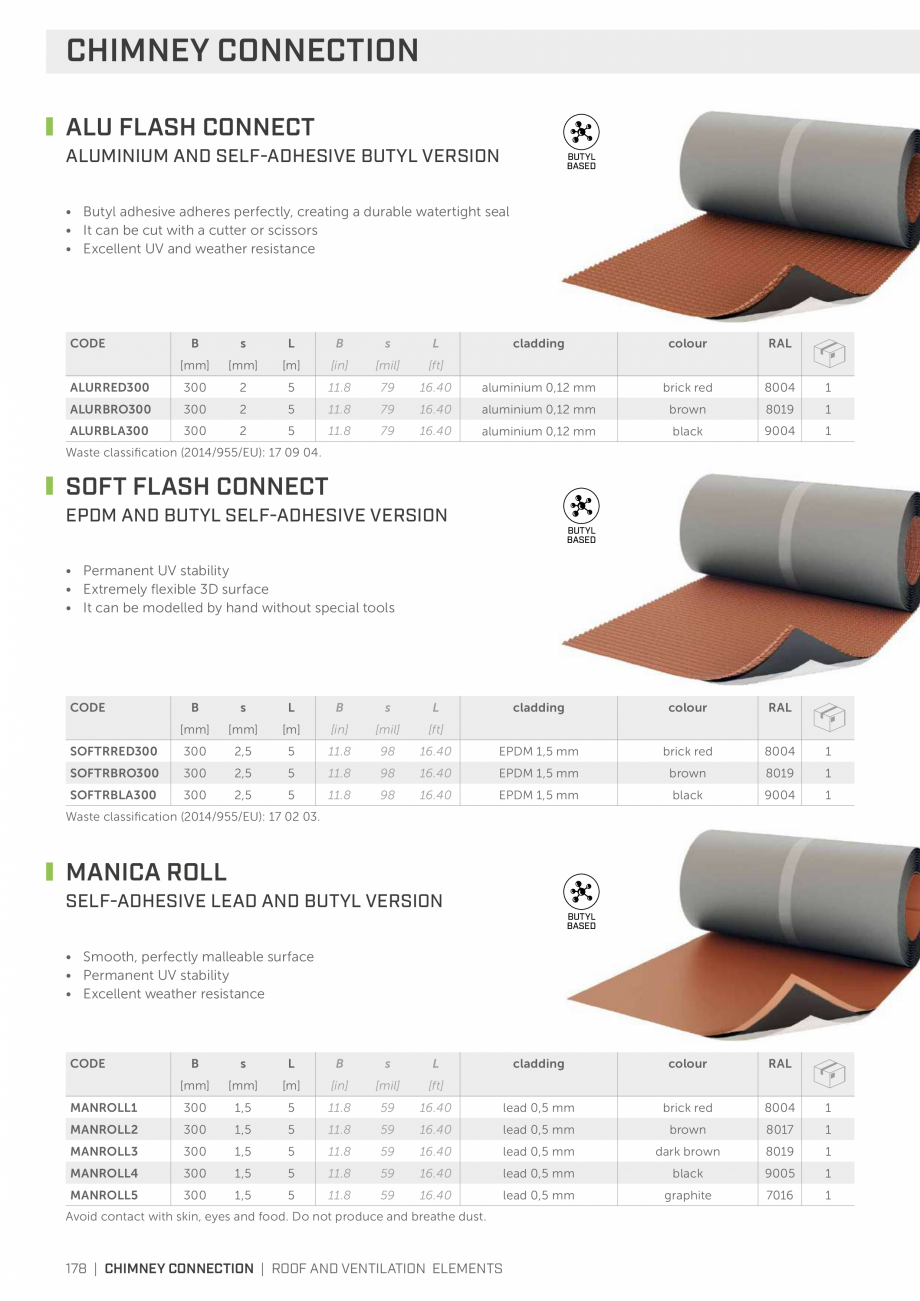 Pagina 178 - Bariere de vapori si control al difuziei pentru acoperis ROTHOBLAAS Catalog, brosura...