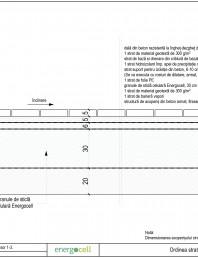 Ordinea straturilor pentru acoperis circulabil