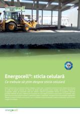 Sticla celulara ENERGOCELL