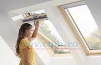 Ferestre de mansarda pentru acoperis terasa sau acoperis cu panta VELUX
