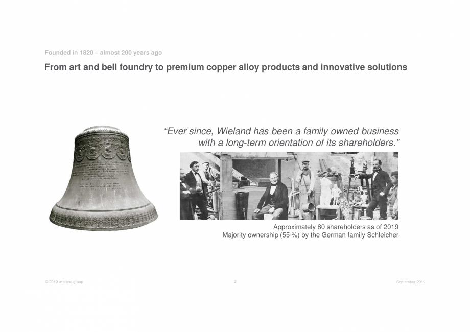 Pagina 2 - Prezentare Wieland Group  Catalog, brosura Engleza ine Tube Shanghai (CN)  Opening of...