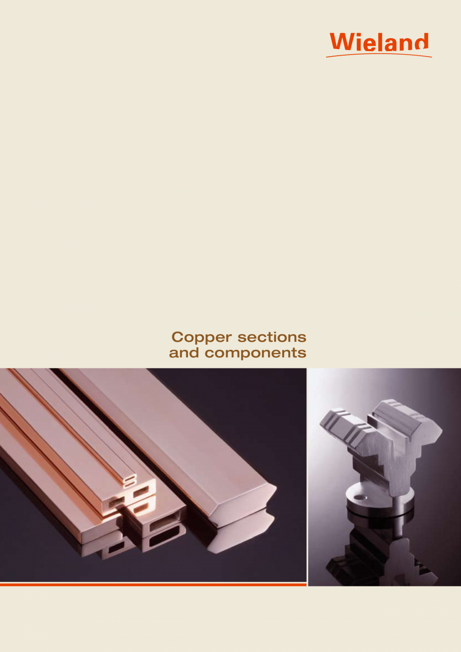 Pagina 1 - Profile WIELAND de cupru WIELAND Fisa tehnica Engleza Copper sections and components ...