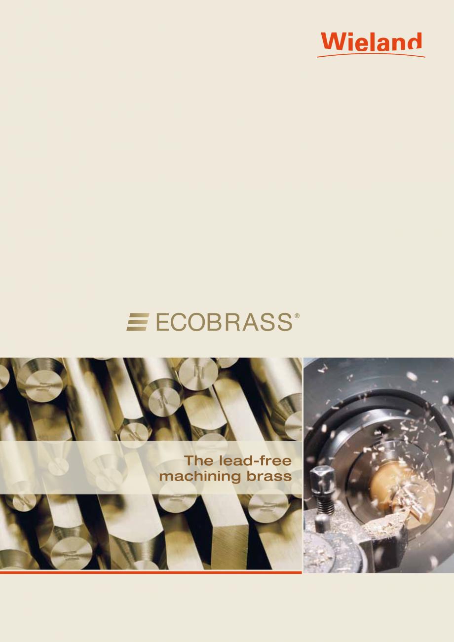 Pagina 1 - Bare fara plumb si nichel WIELAND ECOBRASS® Fisa tehnica Engleza The lead-free...