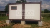 Casa din containere  - 2 x 7500 x 2438 mm 3M Interserv - Poza 4