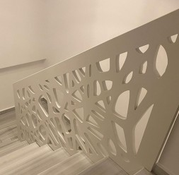 Balustrade decorative din MDF pentru scari si trepte de interior Paravane Decorative