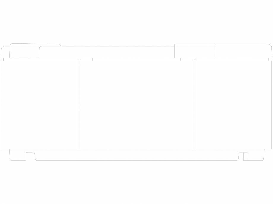 Pagina 1 - CAD-DWG Cada cu hidromasaj tip jacuzzi Delos, vazuta din fata JACUZZI Detaliu de produs