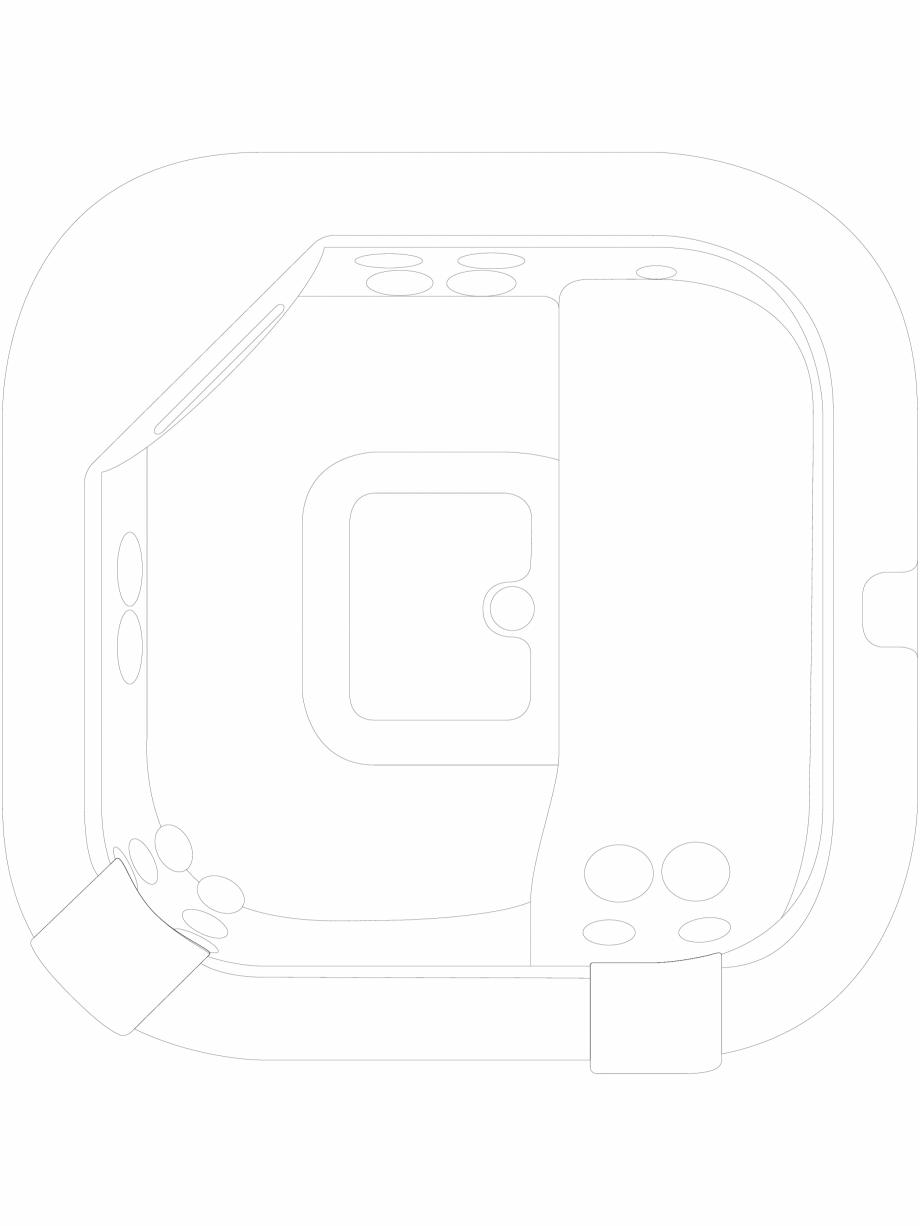 Pagina 1 - CAD-DWG Cada cu hidromasaj tip jacuzzi, vazuta de sus JACUZZI Detaliu de produs DELFI,...