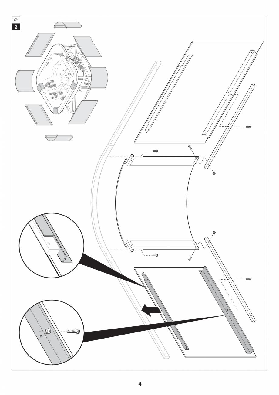 Pagina 40 - Manual de instalare pentru cada de baie cu hidromasaj JACUZZI SANTORINI PRO, SANTORINI...