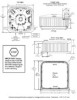 Dimensiuni pentru cada cu hidromasaj JACUZZI - J-445™