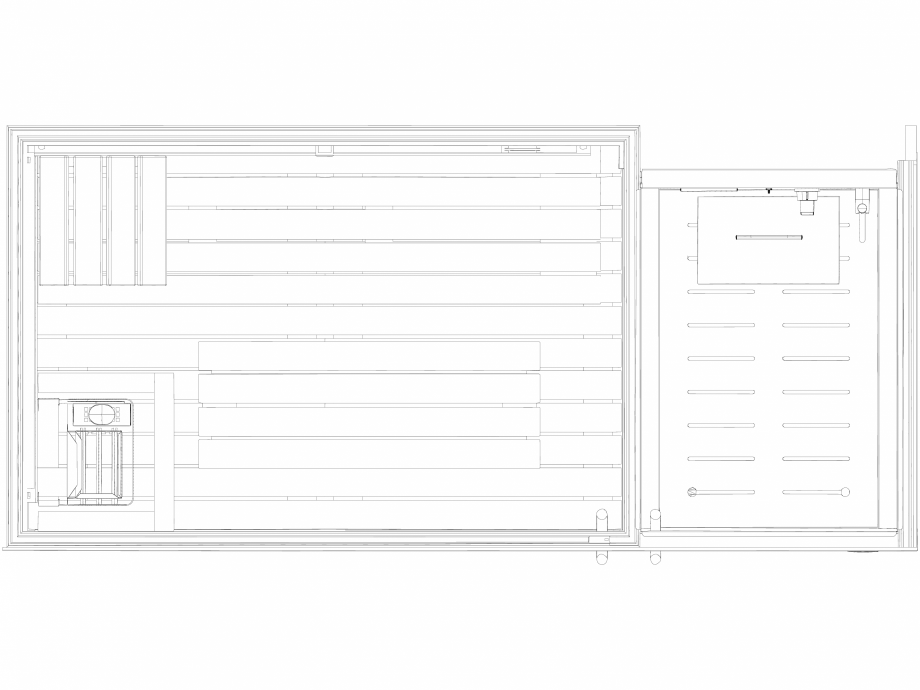 Pagina 1 - CAD-DWG Sauna Sasha MI vazuta de sus - 2D JACUZZI Detaliu de produs