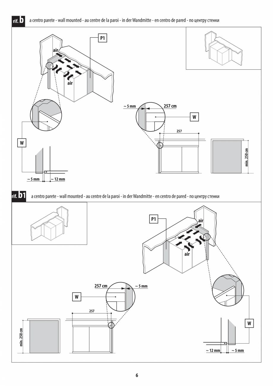 Pagina 6 - Instructiuni de preinstalare pentru hammam + dus JACUZZI SASHA, SASHA 2.0 Instructiuni...