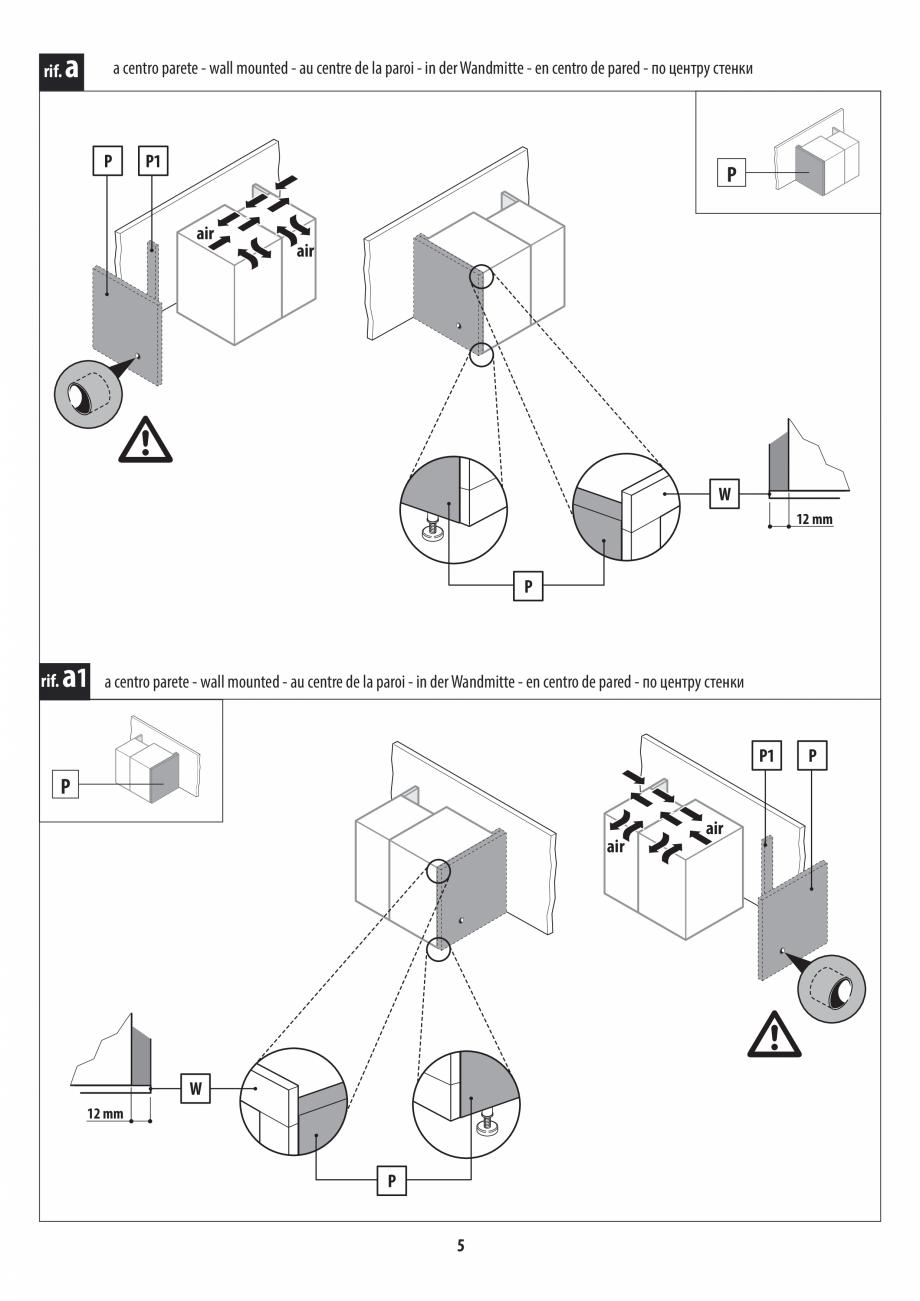 Pagina 5 - Instructiuni de preinstalare pentru sauna + dus JACUZZI SASHA, SASHA 2.0 Instructiuni...