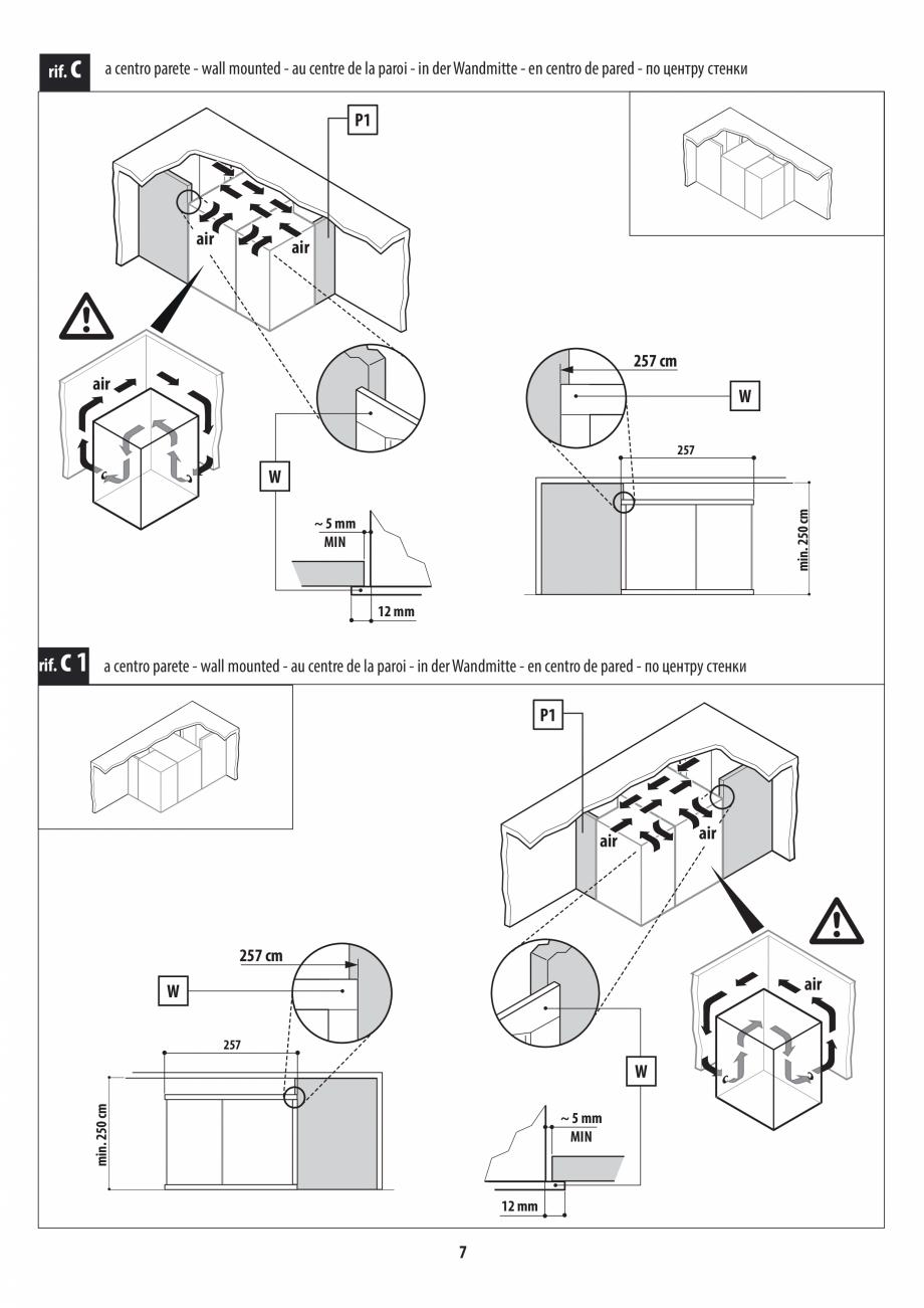 Pagina 7 - Instructiuni de preinstalare pentru sauna + dus JACUZZI SASHA, SASHA 2.0 Instructiuni...