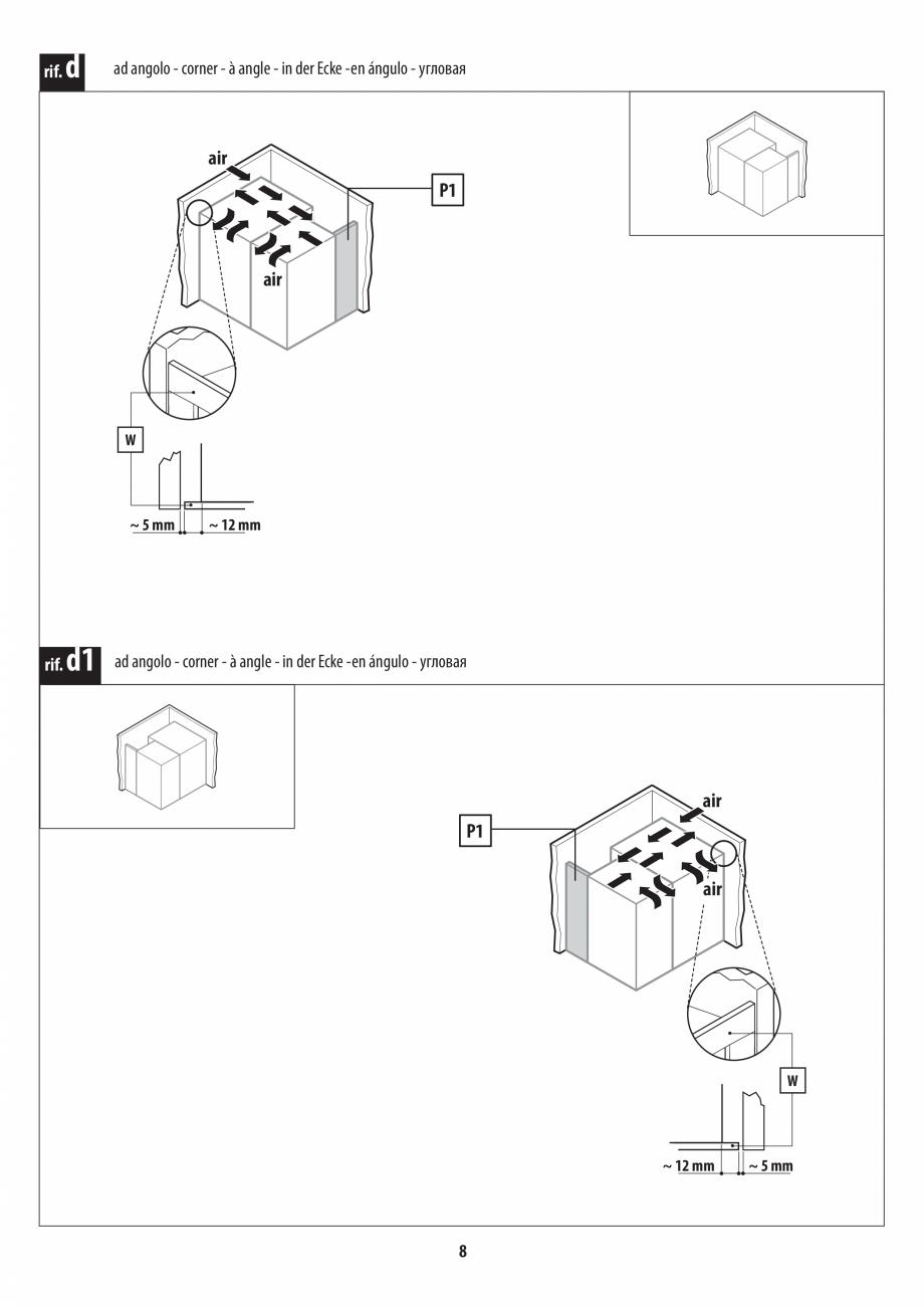 Pagina 8 - Instructiuni de preinstalare pentru sauna + dus JACUZZI SASHA, SASHA 2.0 Instructiuni...