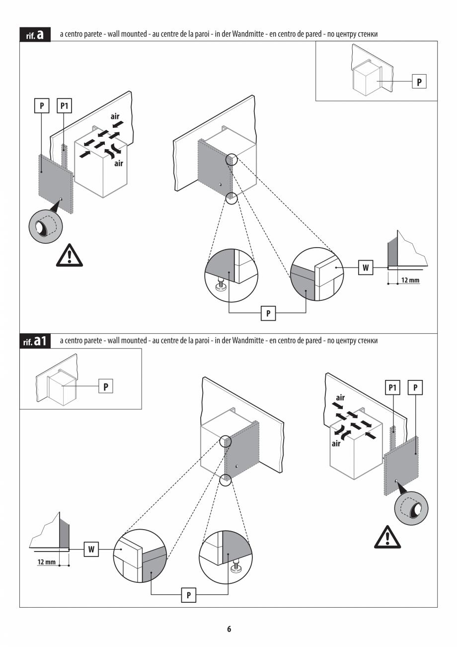 Pagina 6 - Instructiuni de preinstalare pentru sauna JACUZZI SASHA, SASHA 2.0 Instructiuni montaj,...