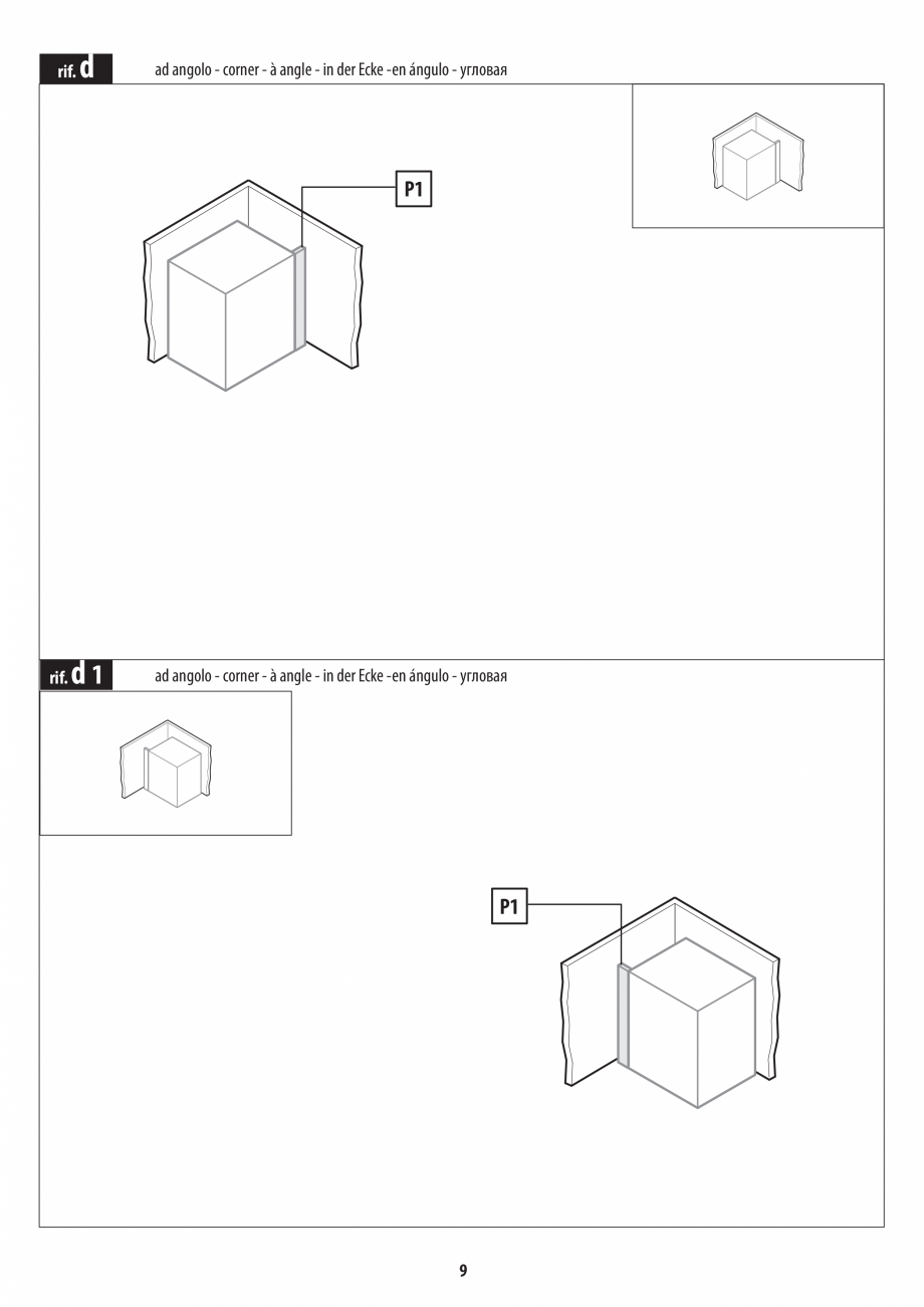 Pagina 9 - Instructiuni de preinstalare pentru sauna JACUZZI SASHA, SASHA 2.0 Instructiuni montaj,...