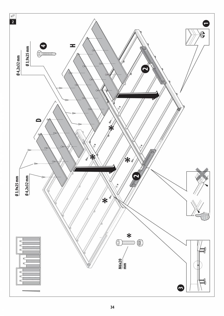 Pagina 34 - Manual de instalare pentru sauna + dus + hammam /sauna+ dus + sauna /hammam + dus +...