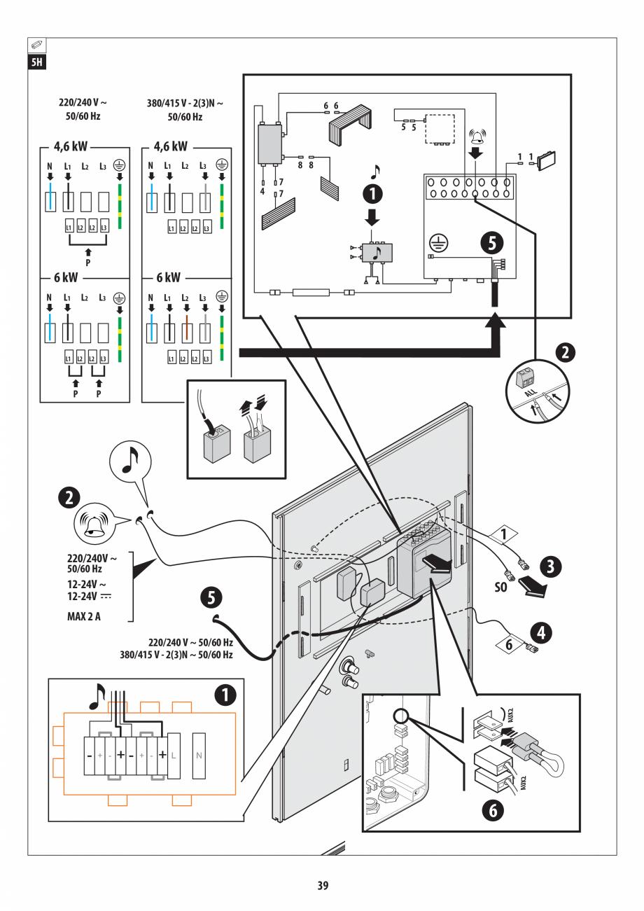 Pagina 39 - Manual de instalare pentru sauna + dus + hammam /sauna+ dus + sauna /hammam + dus +...
