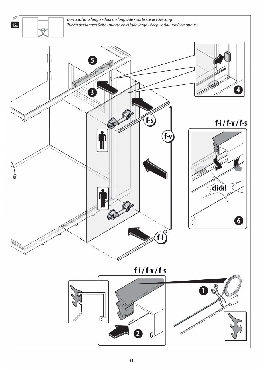 Pagina 51 - Manual de instalare pentru sauna + dus + hammam /sauna+ dus + sauna /hammam + dus +...