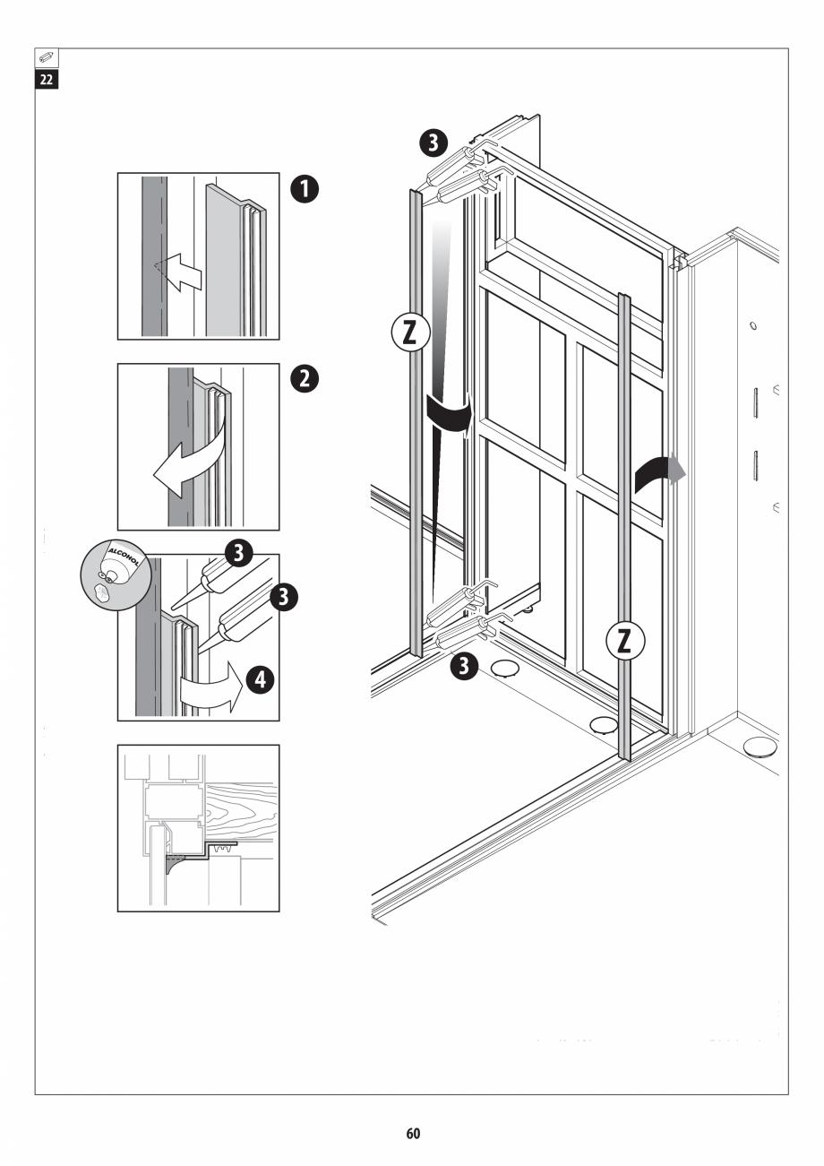 Pagina 60 - Manual de instalare pentru sauna + dus + hammam /sauna+ dus + sauna /hammam + dus +...