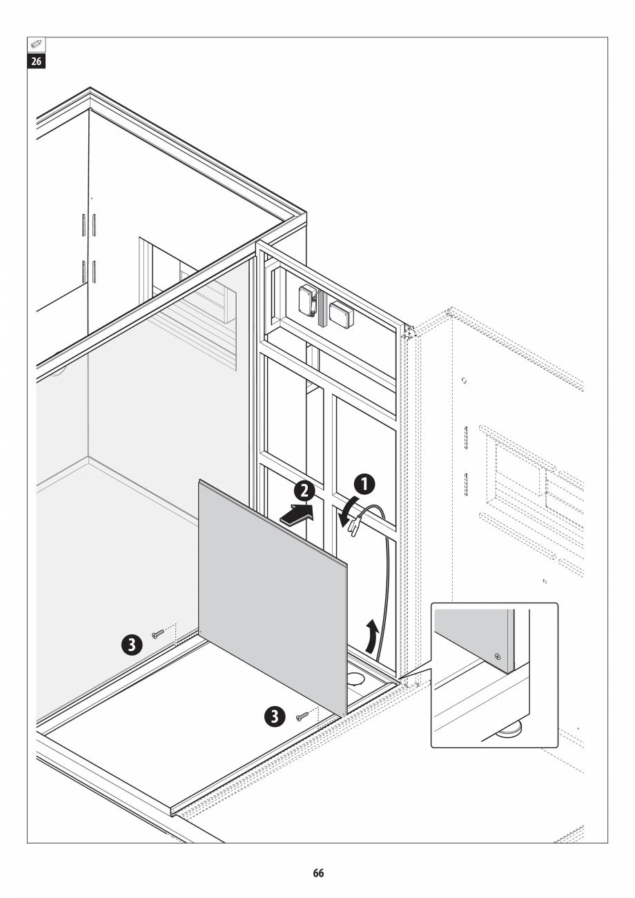 Pagina 66 - Manual de instalare pentru sauna + dus + hammam /sauna+ dus + sauna /hammam + dus +...