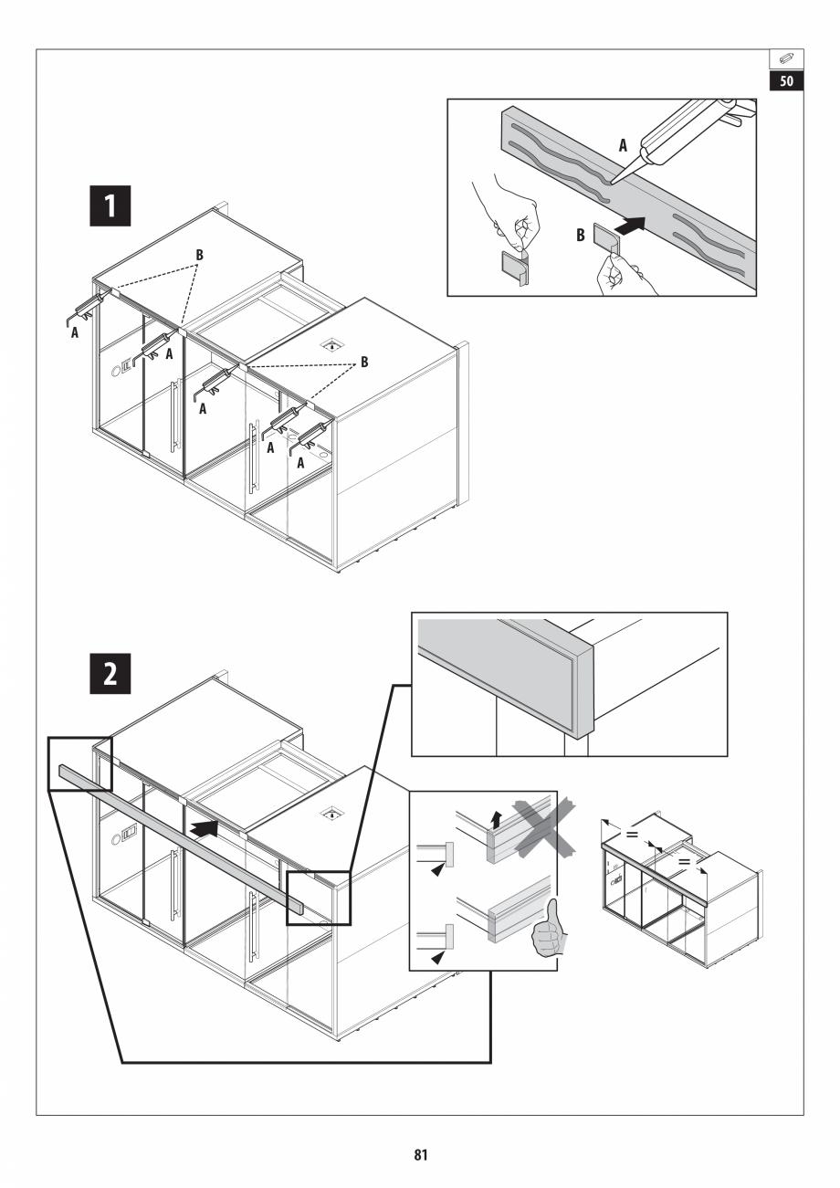 Pagina 81 - Manual de instalare pentru sauna + dus + hammam /sauna+ dus + sauna /hammam + dus +...