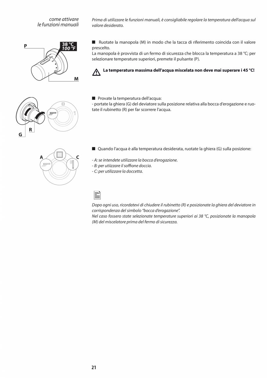 Pagina 21 - Manual de utilizare si intretinere pentru sauna JACUZZI SASHA, SASHA 2.0 Instructiuni...