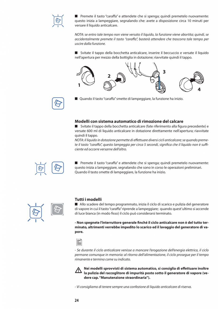 Pagina 24 - Manual de utilizare si intretinere pentru sauna JACUZZI SASHA, SASHA 2.0 Instructiuni...