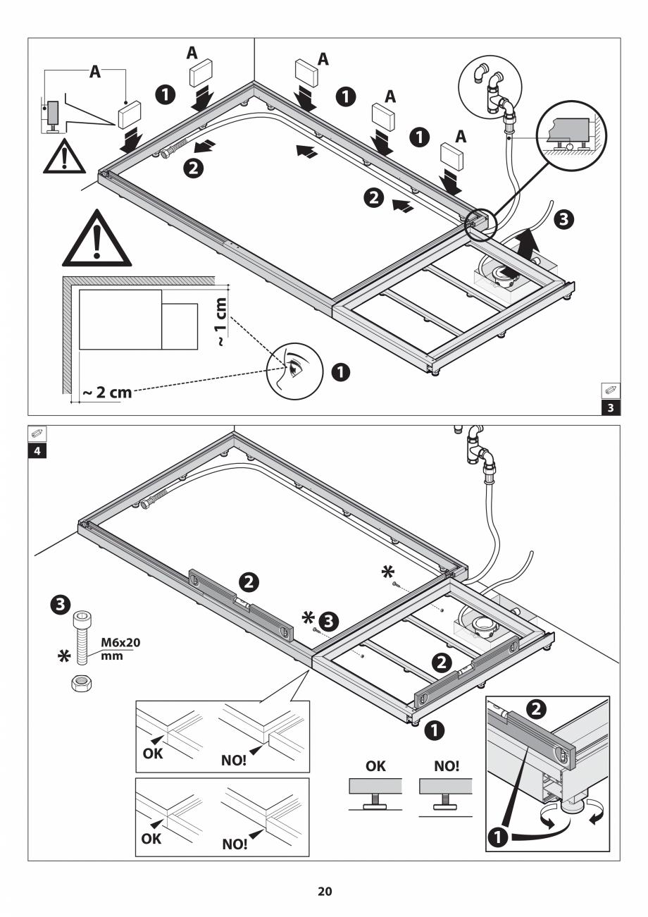 Pagina 20 - Manual de instalare pentru sauna JACUZZI SASHA MI Instructiuni montaj, utilizare Engleza...