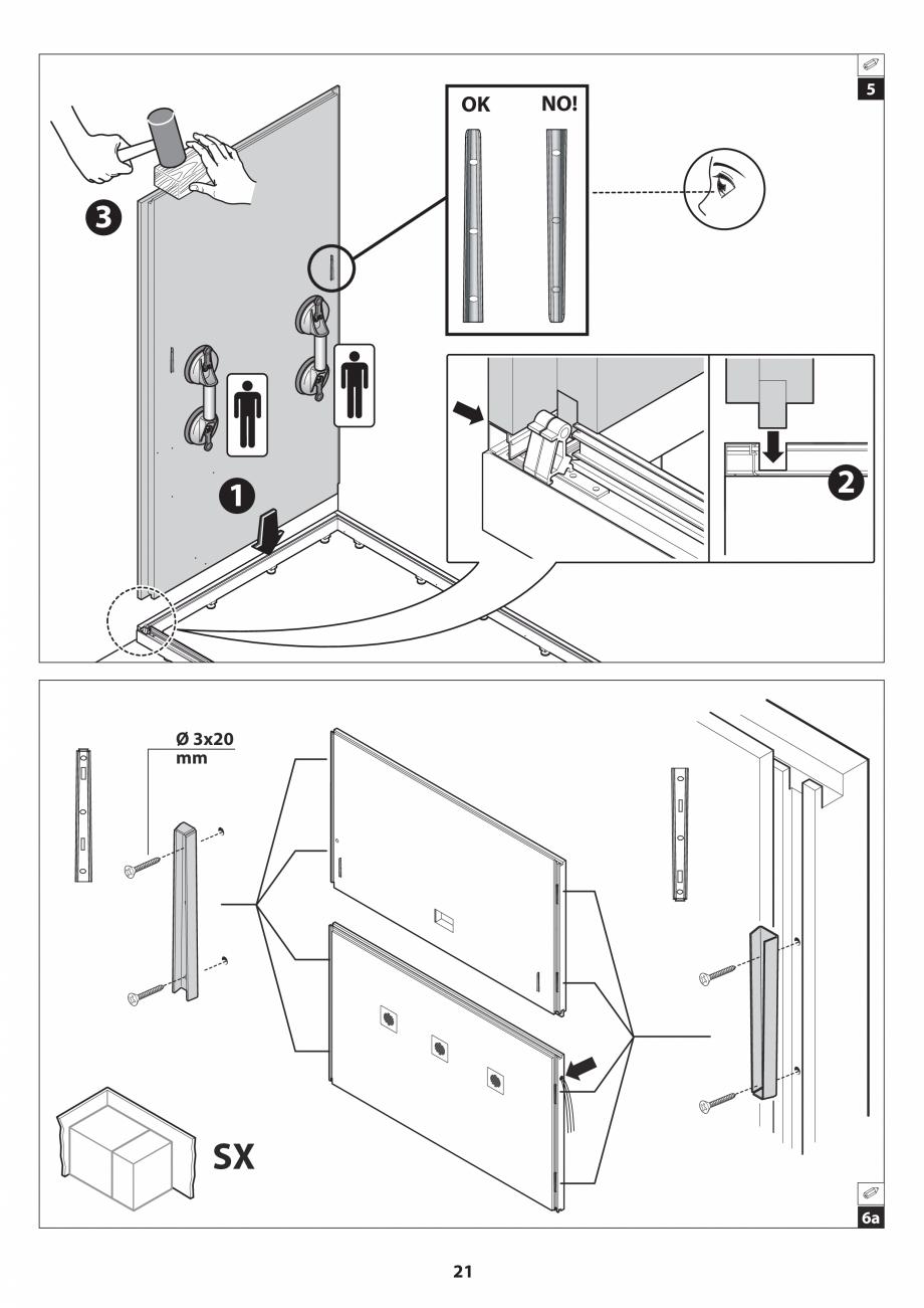 Pagina 21 - Manual de instalare pentru sauna JACUZZI SASHA MI Instructiuni montaj, utilizare Engleza...