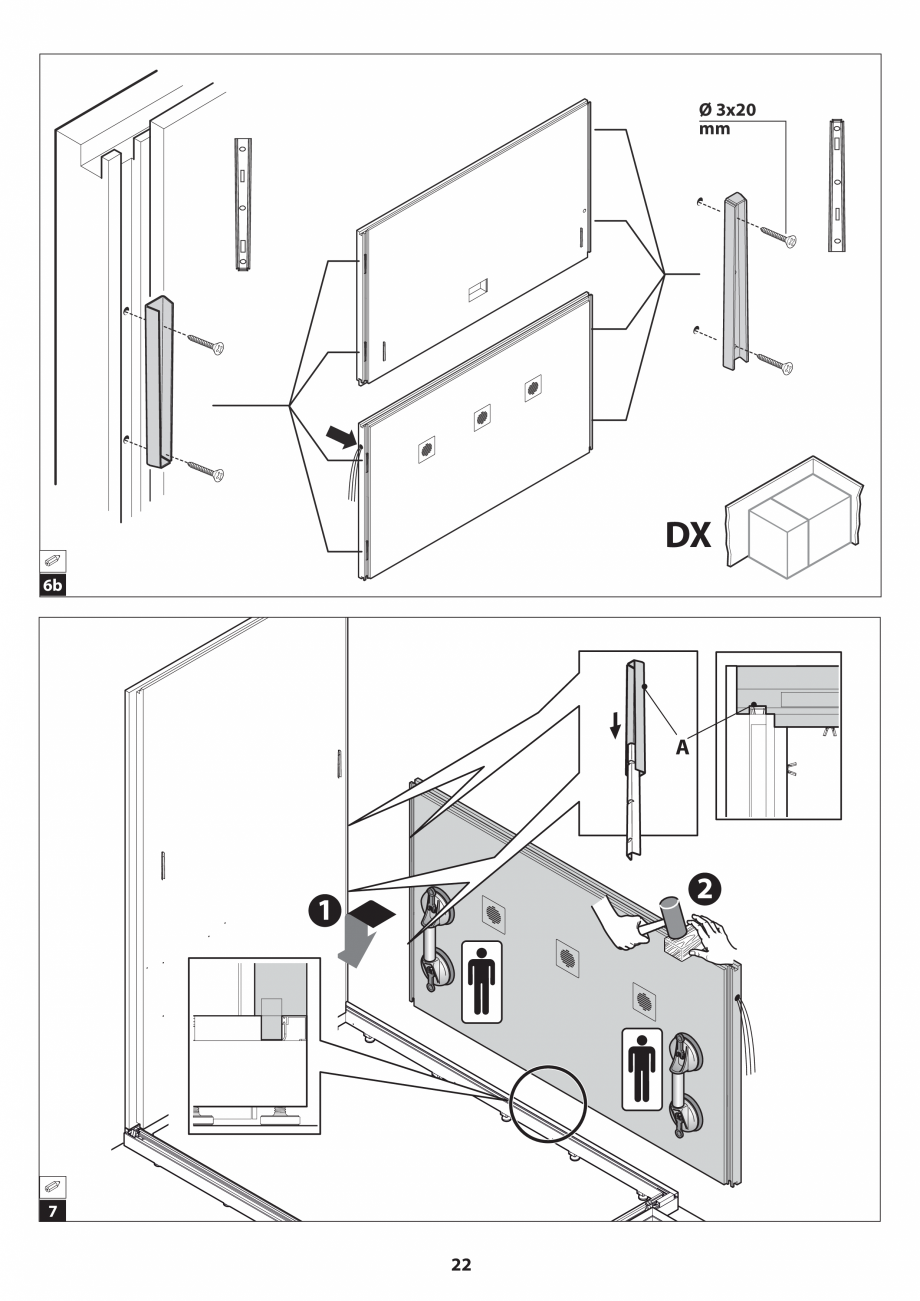 Pagina 22 - Manual de instalare pentru sauna JACUZZI SASHA MI Instructiuni montaj, utilizare Engleza...