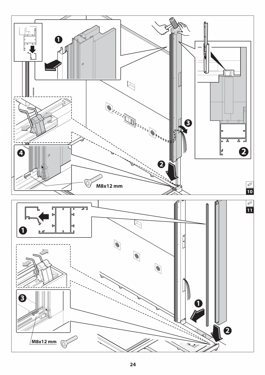Pagina 24 - Manual de instalare pentru sauna JACUZZI SASHA MI Instructiuni montaj, utilizare Engleza...