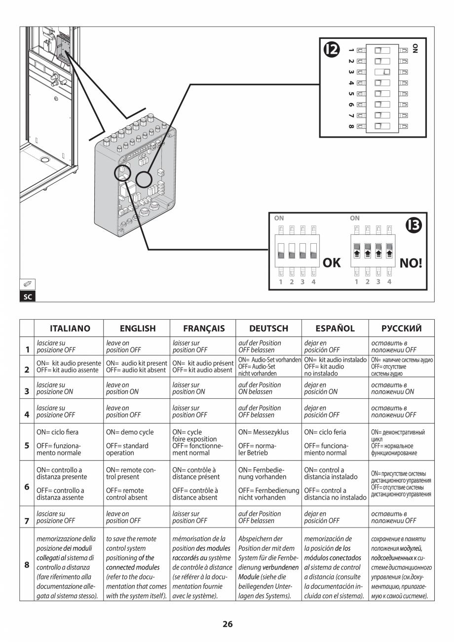 Pagina 26 - Manual de instalare pentru sauna JACUZZI SASHA MI Instructiuni montaj, utilizare Engleza...