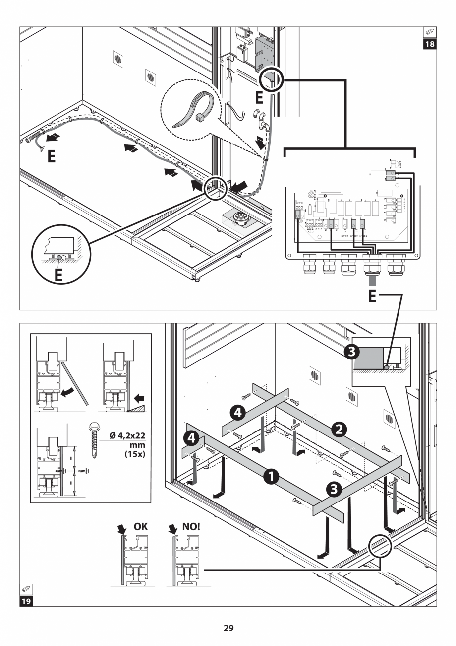 Pagina 29 - Manual de instalare pentru sauna JACUZZI SASHA MI Instructiuni montaj, utilizare Engleza...