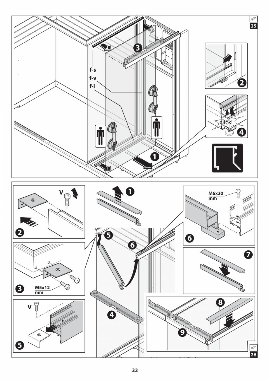 Pagina 33 - Manual de instalare pentru sauna JACUZZI SASHA MI Instructiuni montaj, utilizare Engleza...