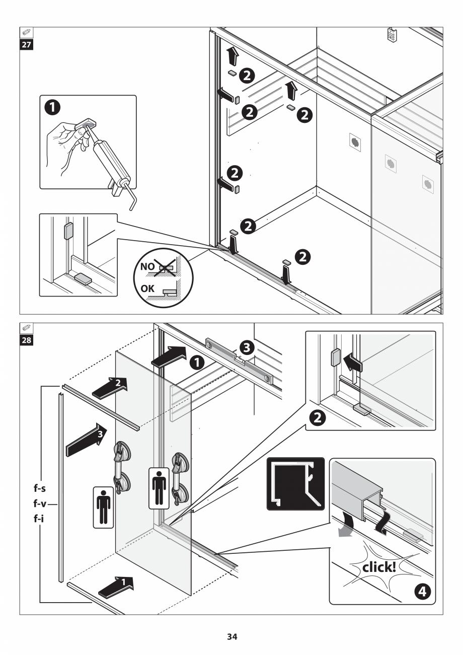 Pagina 34 - Manual de instalare pentru sauna JACUZZI SASHA MI Instructiuni montaj, utilizare Engleza...
