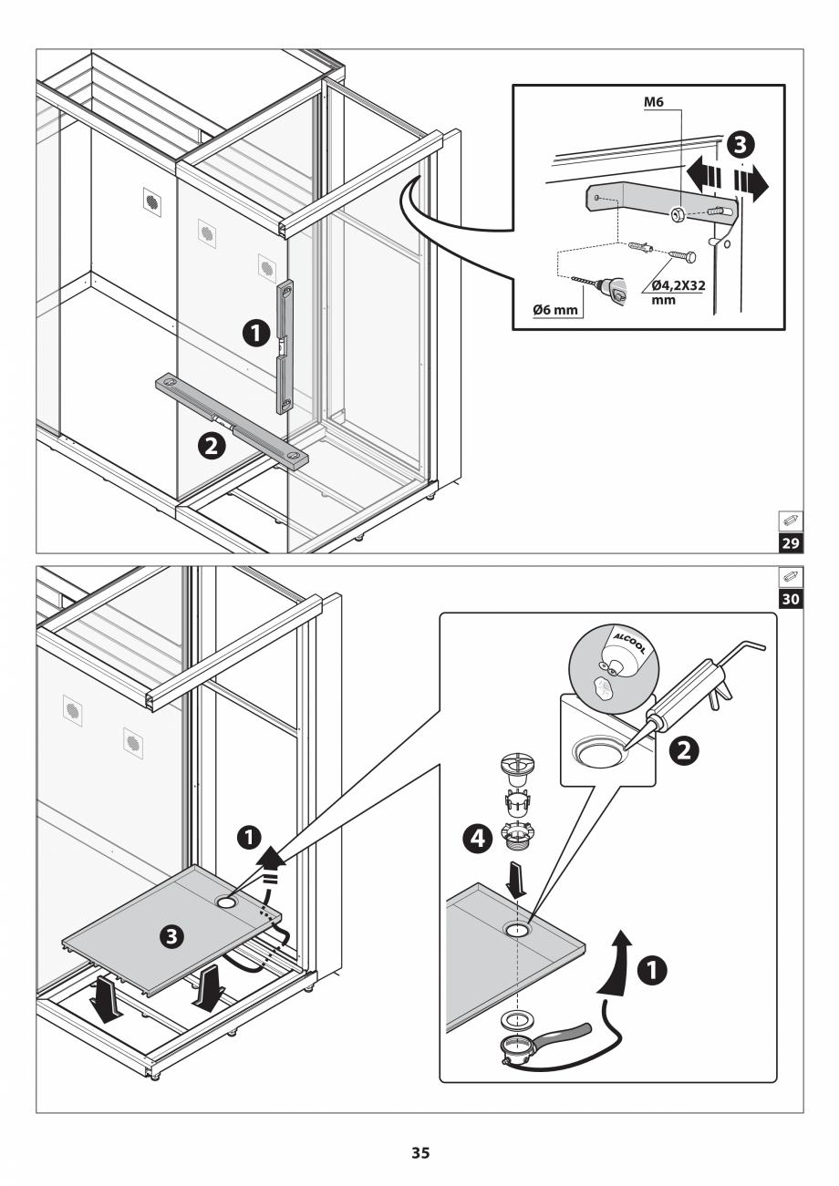 Pagina 35 - Manual de instalare pentru sauna JACUZZI SASHA MI Instructiuni montaj, utilizare Engleza...