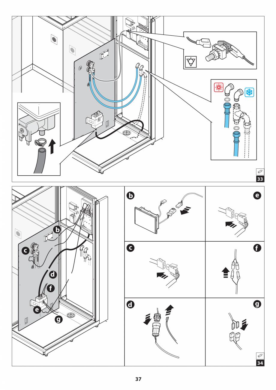 Pagina 37 - Manual de instalare pentru sauna JACUZZI SASHA MI Instructiuni montaj, utilizare Engleza...